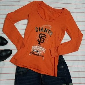 San Francisco Giants Long Sleeve Top Size S